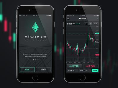Ethereum App forex trading ethereum bitcoin ios iphone ui app