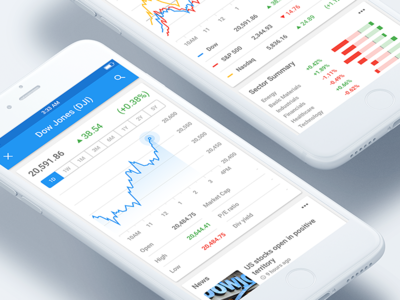 Google Finance #013 stocks ios app finance ui daily