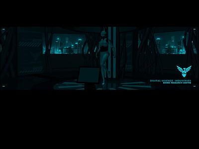 DS 2005 neon animation fui web design ui