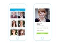 App Mockup Screens