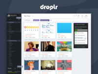 Droplr – Web Application Redesign