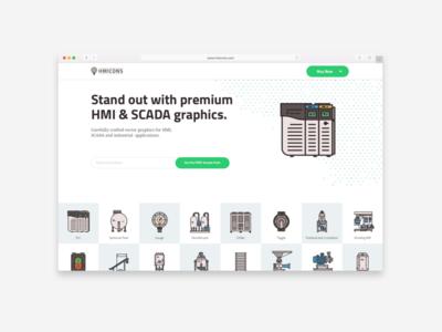 Premium HMI & SCADA graphics website