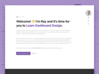Learn Dashboard Design Course