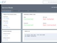 Service mode   system info