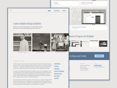 Updated Portfolio Website – 2018