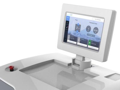 Medical Laser Device App touch tablet skincare medical design medical app web app user interface ui interface data dashboard