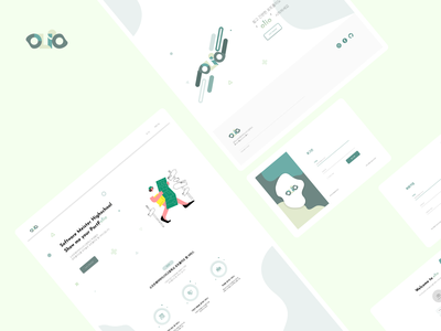Web design - Olio student work student project design uiux design uiux schoolproject uiuxdesign figmadesign figma