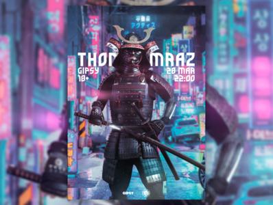 """Poster for """"THOMAS MRAZ"""" art vector typography illustration logo poster design poster art poster design"""
