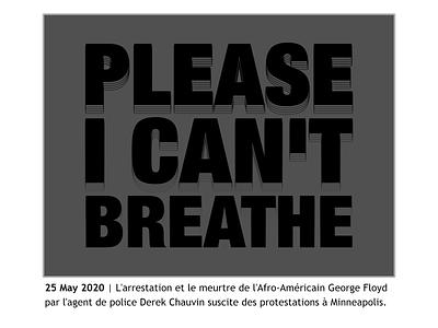 May 2020 police violence blacklivesmatter blm george floyd typography 2020 logo design vector illustration