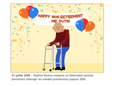 July 2020 july2020 president vladimir poutine putin 2020 design vector illustration