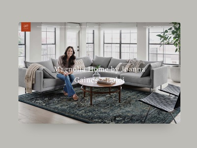 Loloi Rugs - E-Commerce Site Redesign website ui shopify e-commerce