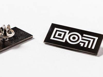 Engine Brand Glyph – Enamel Pins enamel pins identity design branding logo