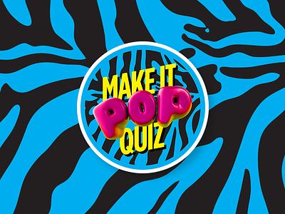 MIPQ Stickers brand swag quiz design pop mipq trivia sticker