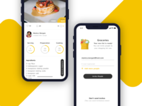 Recipes and Shopping List App