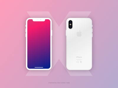 Free iPhone X Mockup adobe xd vector experience design iphone x xd mockup free