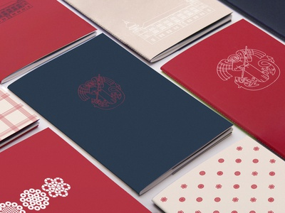 Visual identity | Notebooks product notebook notes cover city branding sign logo visual identity branding illustration vector graphic design design