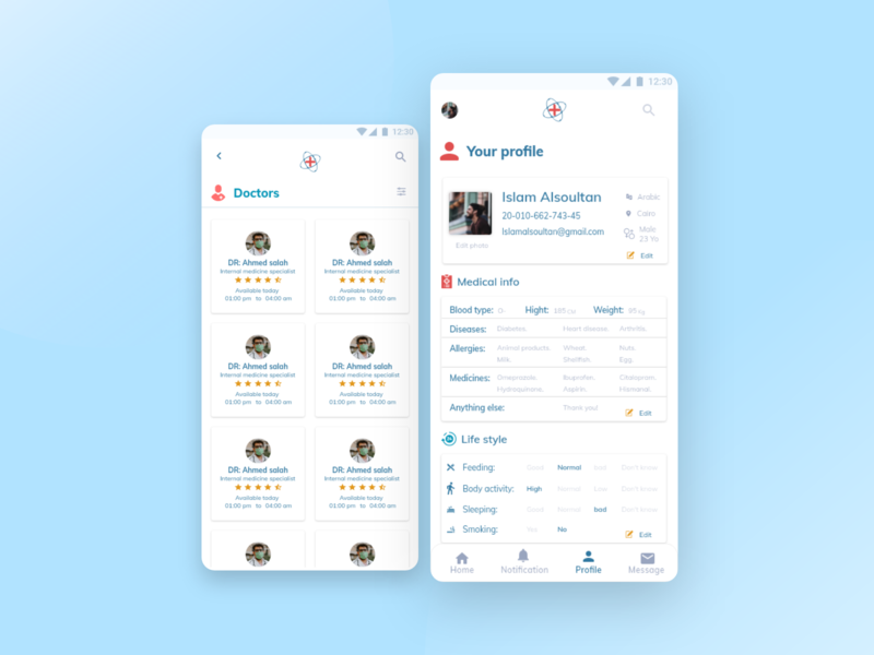 Take care userexperiencedesign user interface ui design uidesign uxdesign ux  ui uiux ux design userexperience ux dailyui branding user experience medical design colors app uxui userinterface ui