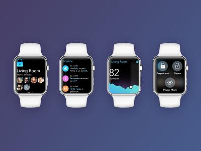 Angee Apple Watch design ui app graph ios watch apple