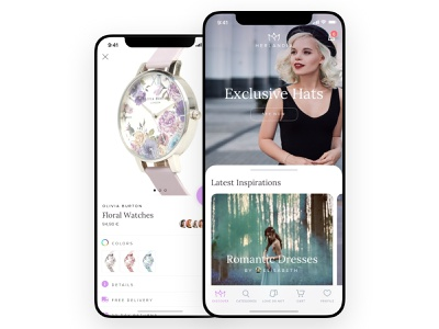 Herlandia iOS App eshop app ios ecommence