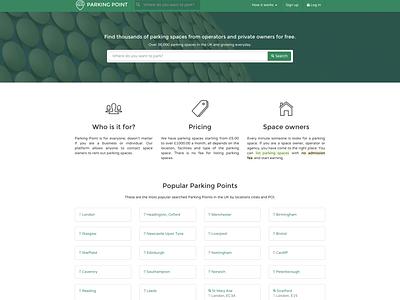 ParkingPoint home homepage webdesign web