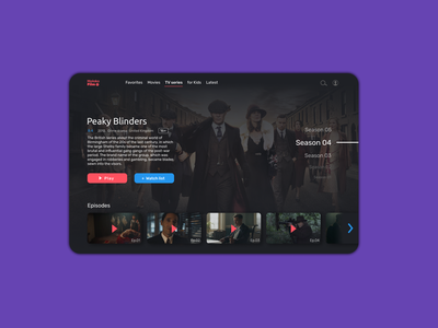 MolokoFilm dark movie minimal website web ux ui design