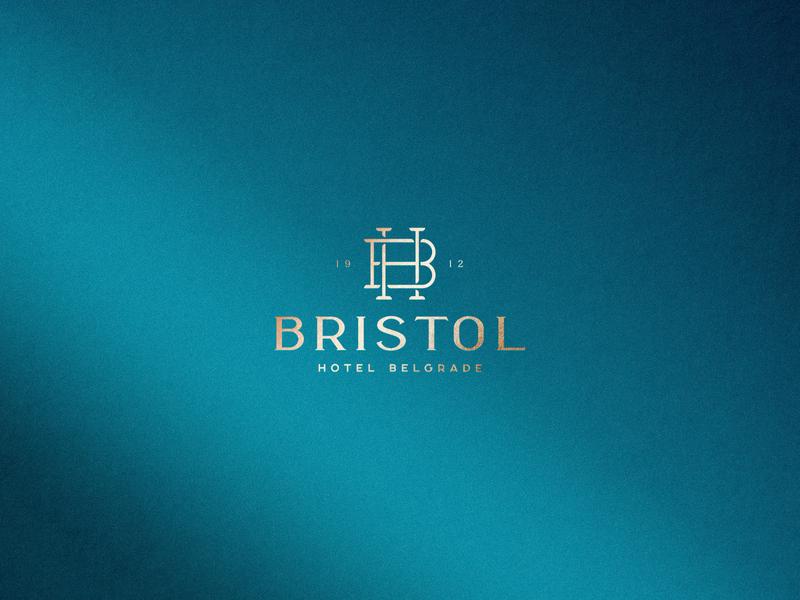 Bristol Hotel / Branding Identity vector typography logotype logodesign logo graphic design graphicdesign design flat branding
