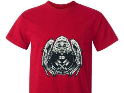 PAK ARMS SERVICES T-Shirt. tshirt tshirt tshirt shirt