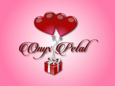 Onyx Petal2. bunchful gifts logos logo gift