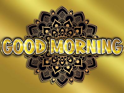 GOOD MORNING. logomaker logobrainy logos