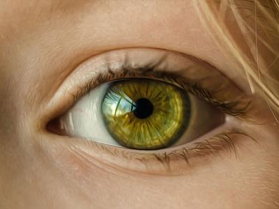 Eye Oil Paint portrait painting portrait art portrait oil paint oil painting