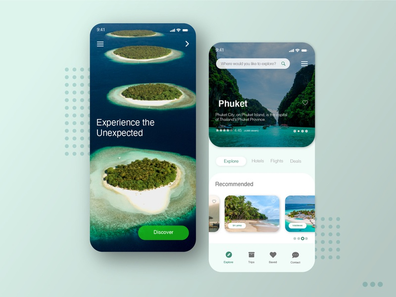 Concept for Travel Mobile App photoshop illustrator xd graphic web design design app mobile user interface ux ui
