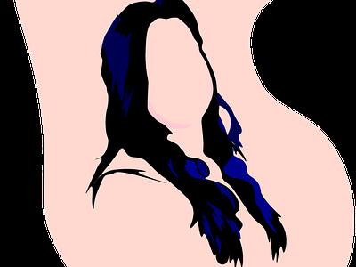 Illustration - Self portrait uiux ui color attractive simple designer portrait illustration portrait fun design adobe illustrator illustrator illustration art selfportrait illustraion interaction design