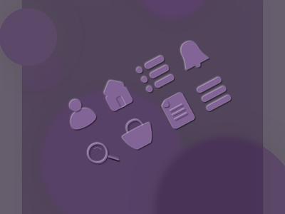 icon design - 3D UI icon design iconography icon set icon ui design illustration designer interaction design ui design