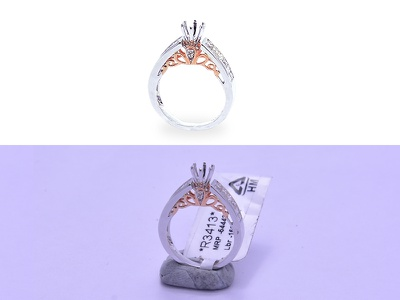 Jewelry Photo Editing ring color correction retouching photo editing jewelry