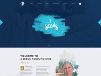 Acupuncture Website Mockup