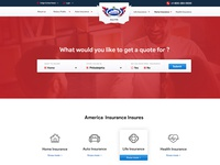 Insurance Agency Website Mockup V2