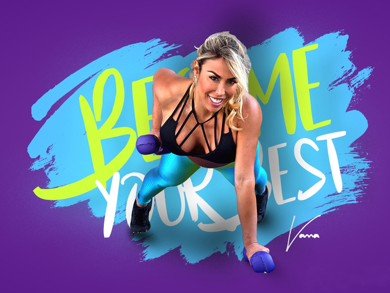 Vanna Belt Fitness Website Mockup modern health template designing web layout mockup branding website fitness