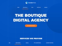 Web Design Agency Home Page Design
