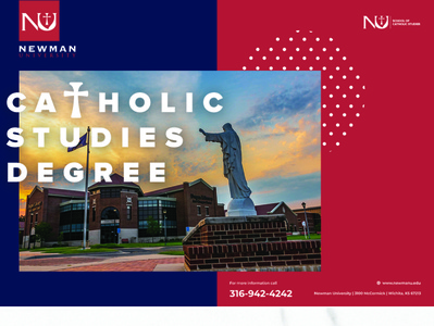 Catholic Studies Brochure Design