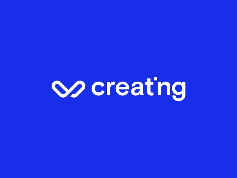 Creating — Logo brand identity brand branding type art illustrator website web logo illustration icon vector design