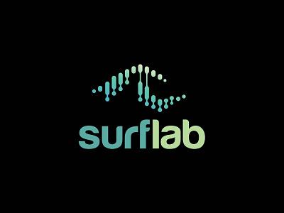 surflab logo icon branding logo