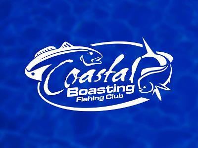 Coastal Boasting Logo logo branding illustration