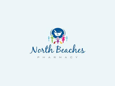 North Beaches Pharmacy Logo branding logo