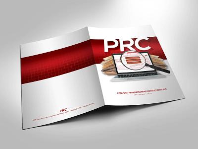 PRC Presentaion Folder design print