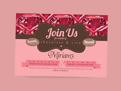 Miriams Valentine Day post card postcard print