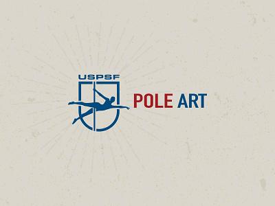 Pole Art Logo icon logo branding