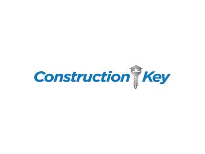 Construction Key Logo icon logo branding