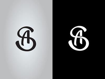 SA Monogram branding logo typography monogram