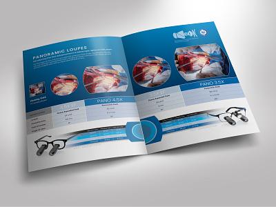 DVI Brochure typography print brochure design