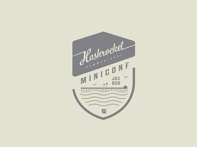 Hashrocket MiniConf Shirt Graphic - 2021 vector typography branding